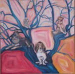67-dogs in tree